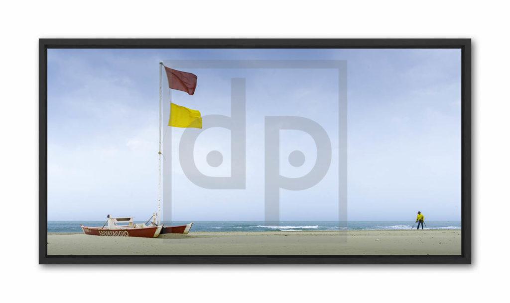 Decoration plage drapeaux © Lionel Tamisier Regard Partagé