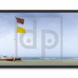 Decoration-plage-drapeaux