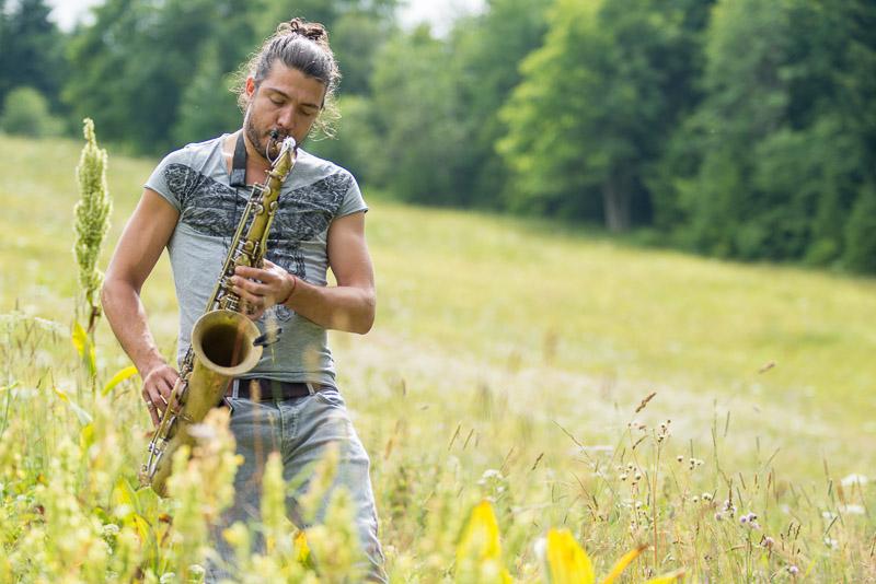 Festival des cabanes 2016 - Concert de Guillaume Perret - Faverges
